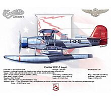 Curtiss SOC-3 Seagull Photographic Print