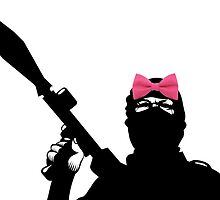Terrorist with Pink Bow by Louis Malouf