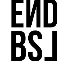 End BSL Text (Black) by scruffyjate