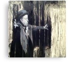 Tom Waits - Making it Rain. Canvas Print