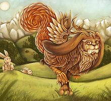 wolpertinger by MishMonster