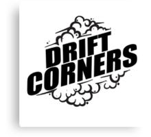 Drift Corners Canvas Print