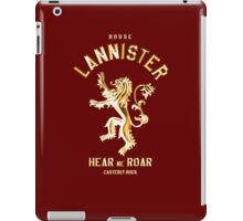 GOLD LANNISTER iPad Case/Skin