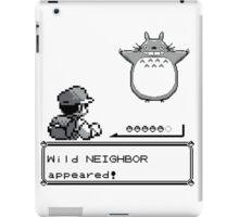 Wild NEIGHBOR appeared! iPad Case/Skin