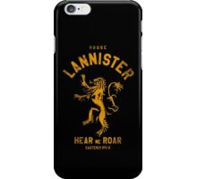 HOUSE LANNISTER 1 iPhone Case/Skin