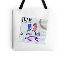 Team Dr. Spencer Reid Tote Bag