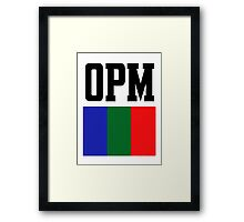 OpM 'Til It's Over Another Day Framed Print