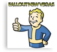 Fallout New Vegas Canvas Print