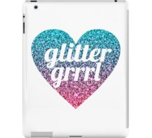 GLITTER GRRRL iPad Case/Skin