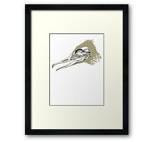 Crazy Ducky Framed Print