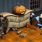 The pumpkin on the dresser by Roberta Angiolani