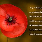Remembrance by Chris Day