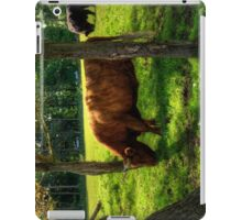 The grass is greener under the trees iPad Case/Skin