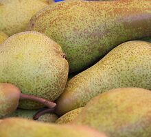 pears on the table by spetenfia