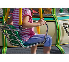 carousel in the park Photographic Print