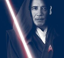 OBAMA Trekkie Jedi by fabiangiles