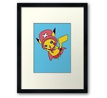 pikachu - chopper  Framed Print