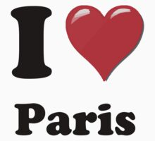 I Love Paris by ColaBoy