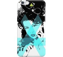Hopeless Pinup Blue Triangle Dreamer iPhone Case/Skin
