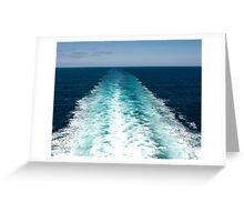 Heading out to Sea Greeting Card