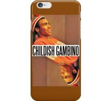 Childish Gambino Poster iPhone Case/Skin