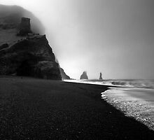 Reynisfjara Beach and the Trolls by Roddy Atkinson
