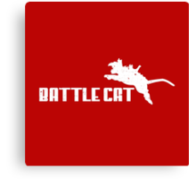 Battle Cat Canvas Print