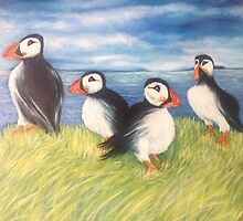 The puffin boys by Gwendolynart