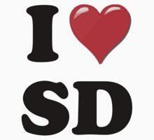 I Love SD by ColaBoy