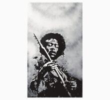 Voodoo Child (Black & White) by artbynewton