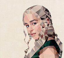 Daenerys Targaryen by pop-lygons