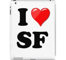 I Love SF iPad Case/Skin