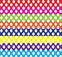 Bright Polka Dot by ArtfulDoodler