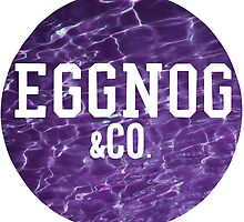 EGGNOG&co. Purple Water. by MegzWills