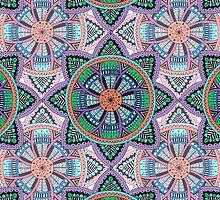 Bohemian Flower Pattern by smmaca