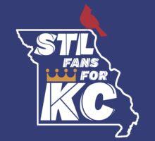 St Louis Fans for Kansas City T-Shirt