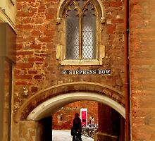 St. Stephens Bow by Charmiene Maxwell-batten