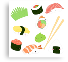 sushi time! Canvas Print