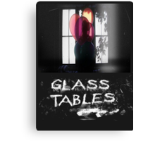 Glass Tables Canvas Print