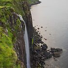 Mealt Waterfall Kilt Rock Skye by tinnieopener