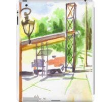 Gaslight at the Truck Stop iPad Case/Skin