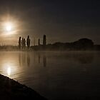 Spring Sun Rise at Lake Burley Griffin (Canberra/ACT/Australia) (8) by Wolf Sverak