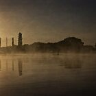 Spring Sun Rise at Lake Burley Griffin (Canberra/ACT/Australia) (9) by Wolf Sverak