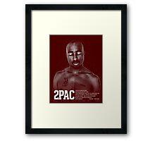 2PAC - DEAR MAMA Framed Print