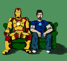 Tony and the Suit by SpecsomeEmilie