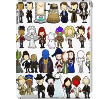 Doctor Who all together now iPad Case/Skin