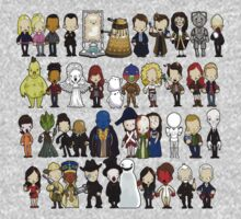 Doctor Who all together now Kids Clothes