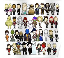 Doctor Who all together now Poster