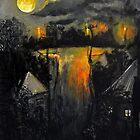 sept moon by glennbrady