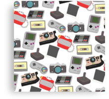 In with the old, nostalgic technology Canvas Print